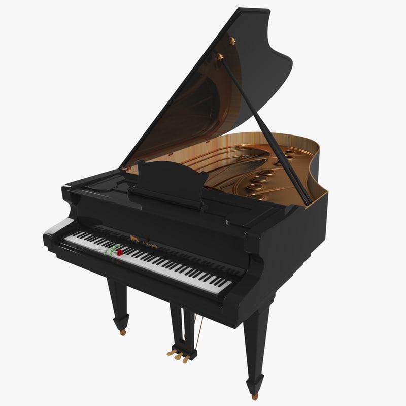 max grand piano classic interior