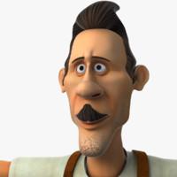repair man 3d model