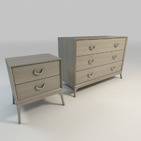 Bennett Dresser and Nightstand