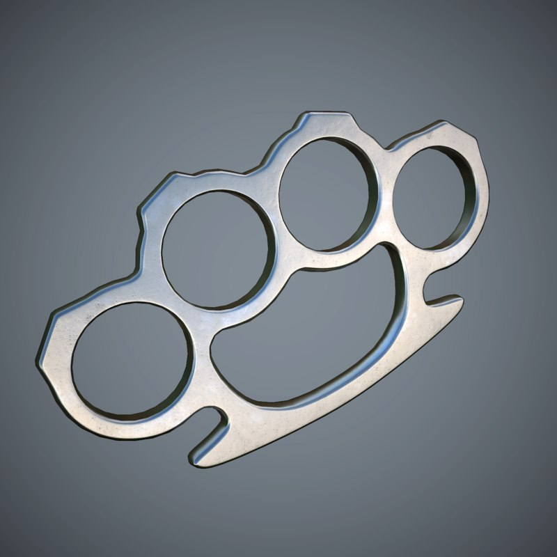 obj brass knuckles pbr games