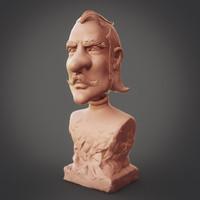 character print zbrush max