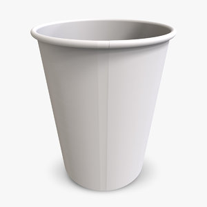 simple coffee cup 3d 3ds