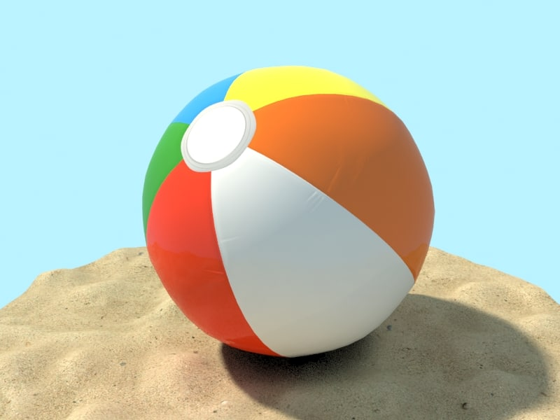 max beachball ball