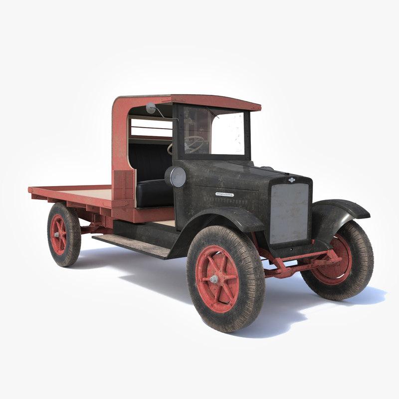 3d international truck 1920
