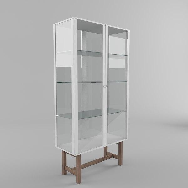 free ikea stockholm cabinet 3d model
