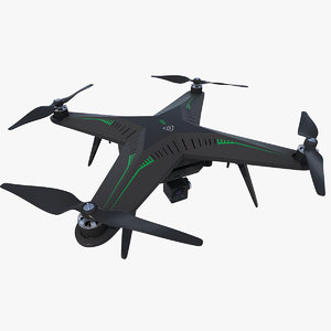 quadrocopter xiro xplorer 3d model