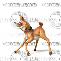 deer cartoon 3d max