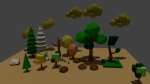 3d tree pack