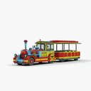 tourist trolley 3D models
