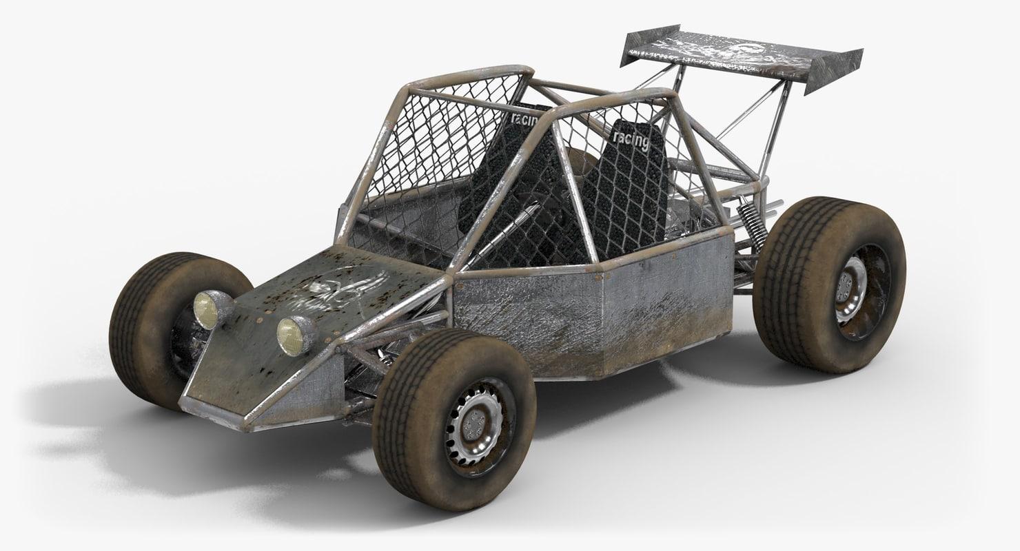 3d model desert buggy