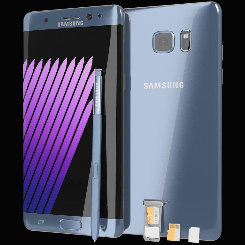 3d realistic samsung galaxy note