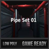 3d pipe set 01