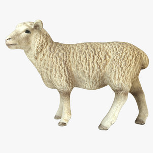 sheep 3d dxf