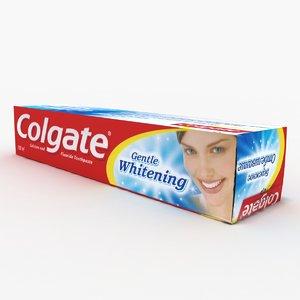3d colgate model