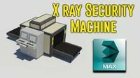 3d xray security machine