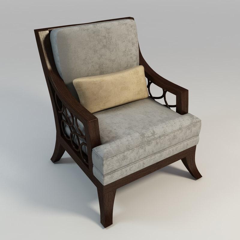coastal arm chair max
