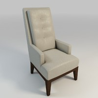 leather arm chair tall max
