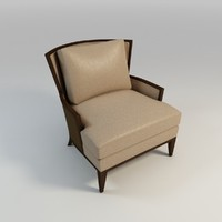 leather arm chair max