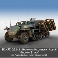 3ds sd kfz 251 1
