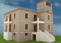 old villa 3d x