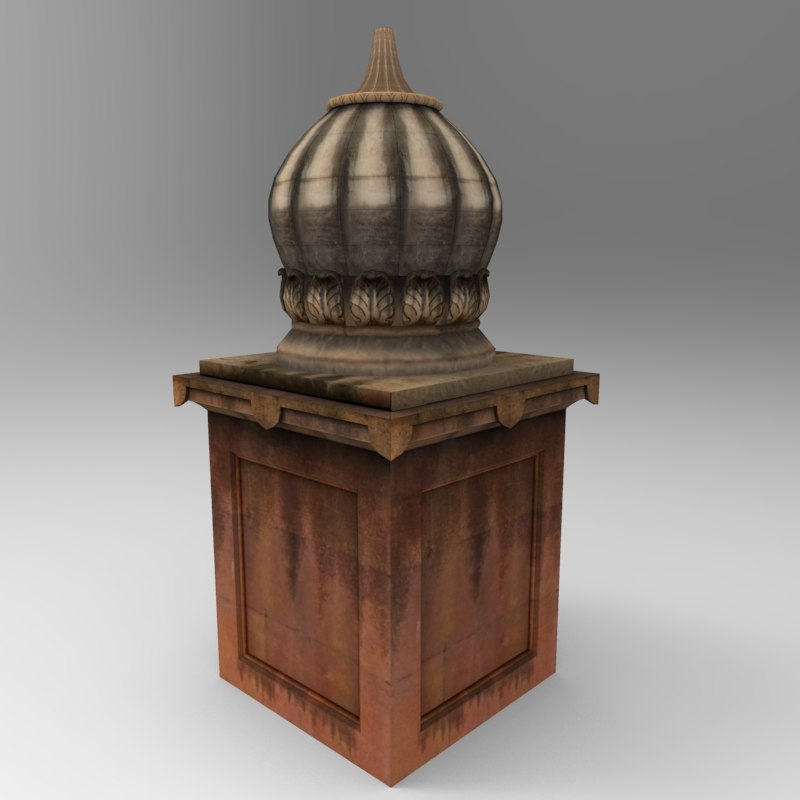 3d tomb modelled