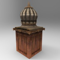 3d tomb modelled