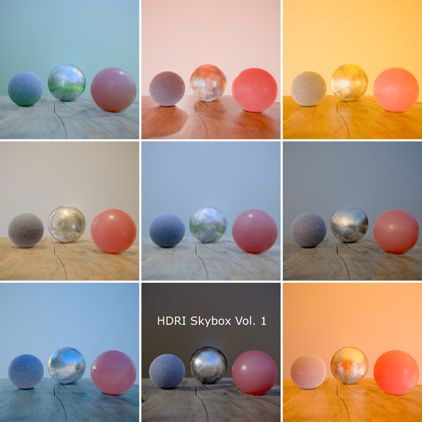 HDRi Vol 1 Skybox Collection