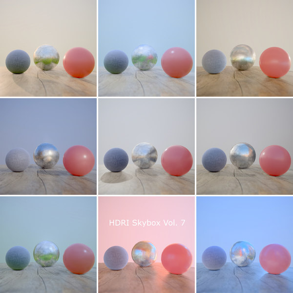 HDRi Vol 7 Skybox Collection