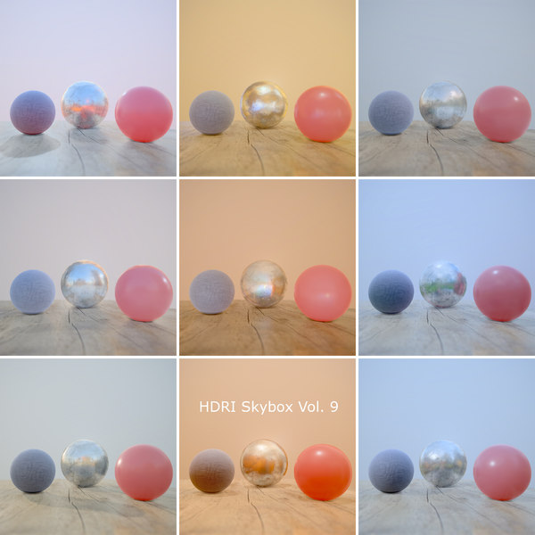 HDRi Vol 9 Skybox Collection
