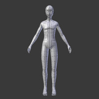 character male subdivision - 3d 3ds