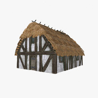 medieval house 3d max