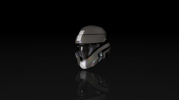 fighter jet helmet c4d