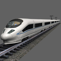 High Speed Train - CRH380b with driver's cab