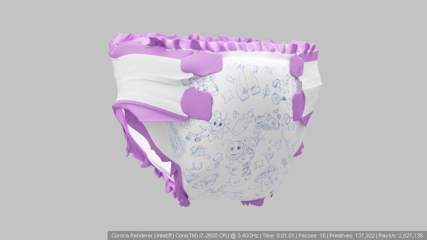 diaper 3d 3ds