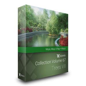 volume 67 - trees 3d ma