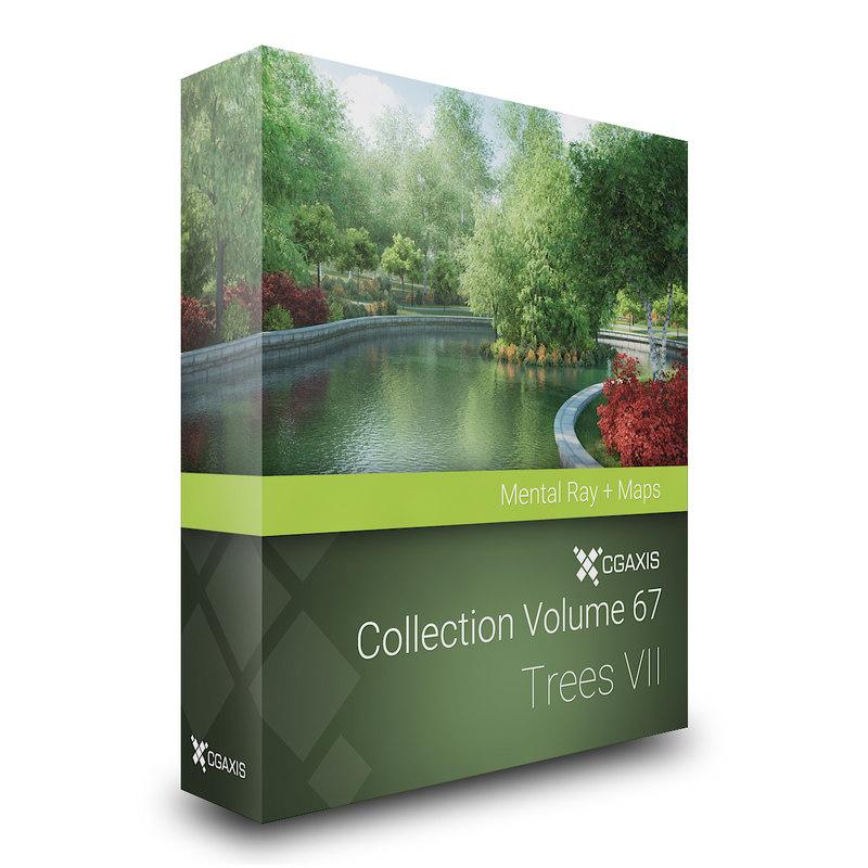 3d model volume 67 - trees