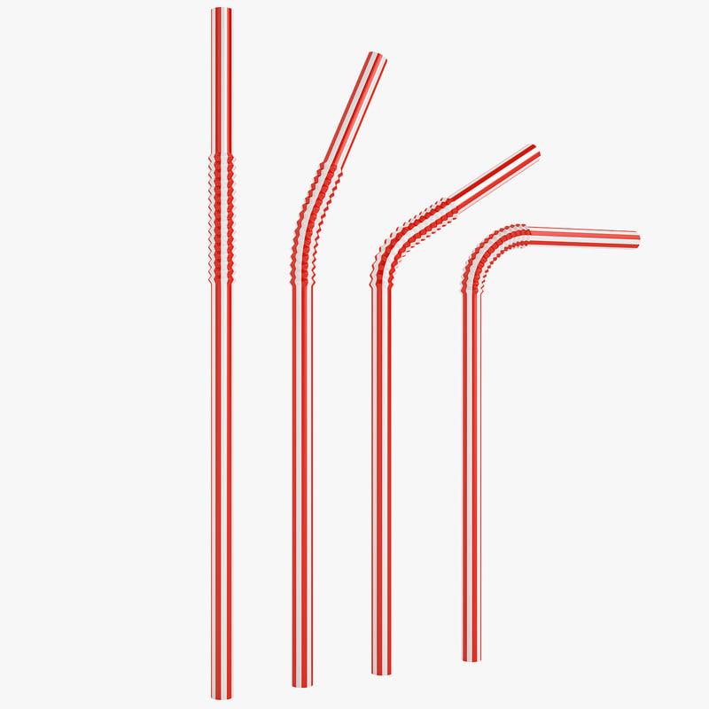 max plastic drink straw
