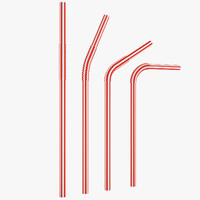 Plastic Drink Straw 01
