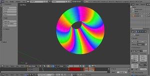 limpet torus surface color 3d 3ds
