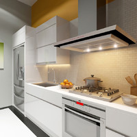v-ray scene kitchen 3d max