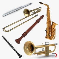 Woodwind Instruments Collection