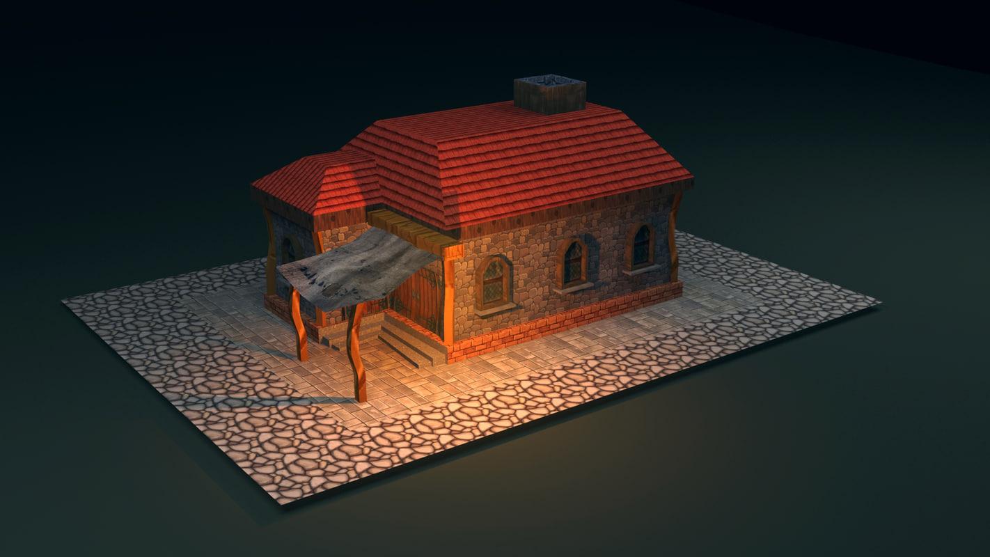 3d home mobil model