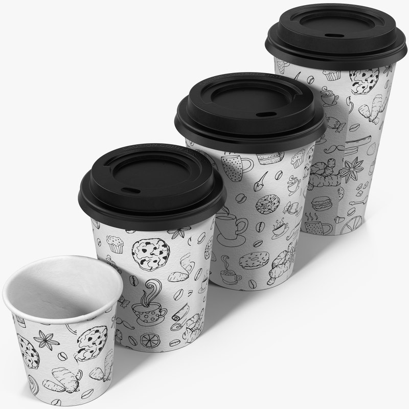 max coffee cups takeout design