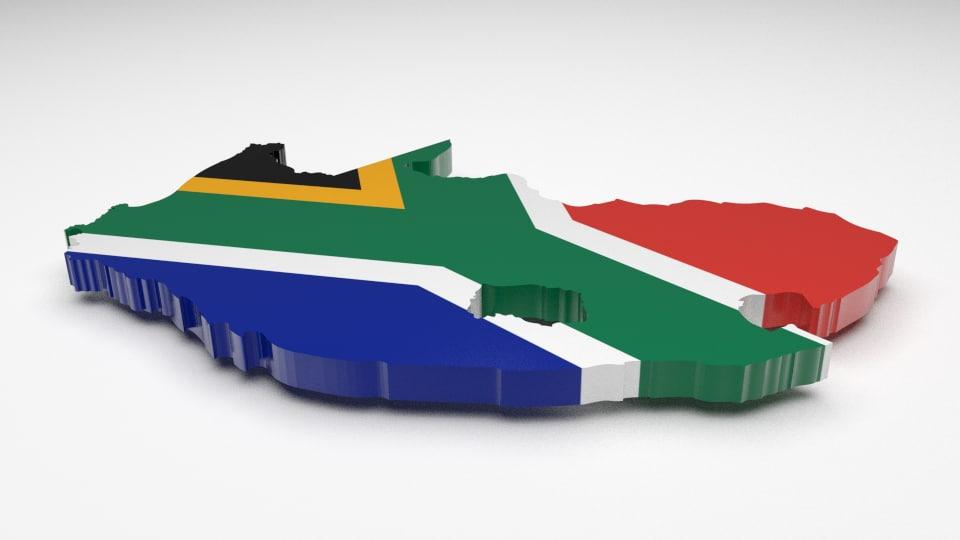 south africa 3d model