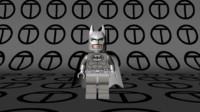 lego batman arctic suit 3d model