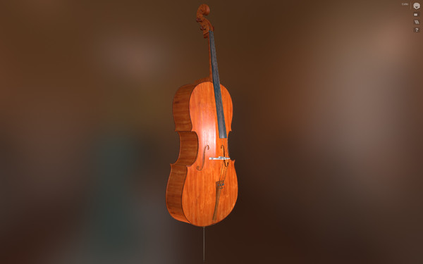 cello pbr obj