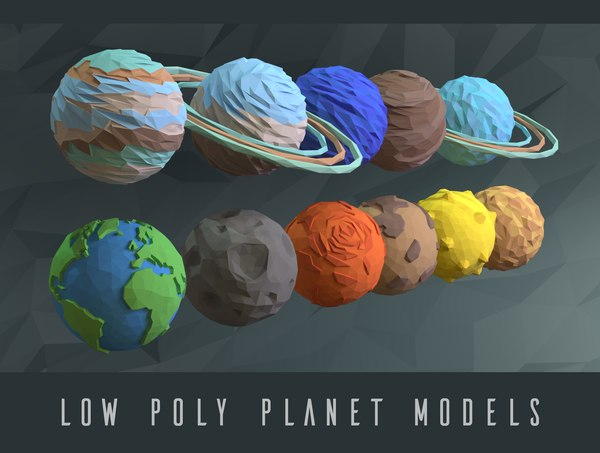 sun planet 3d model