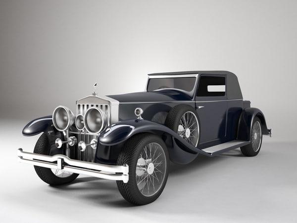 3d rolls automobile
