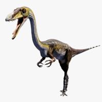 3d model dinosaur coelophysis
