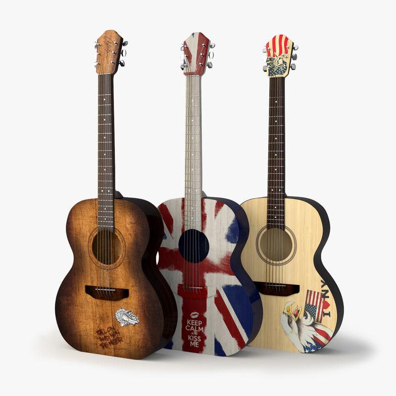 western guitar obj